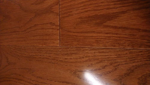 "Bluegrass Burnside White Oak Chestnut High Gloss 1/2"" x 5"" Engineered Hardwood - $2.89 sq. ft."