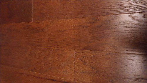 "Timeless Designs Vintage Hickory Cashmere Wirebrush 3/8"" x 4.75"" Engineered Hardwood - $2.79 sq. ft."