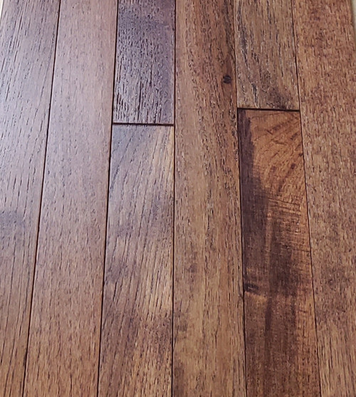 "Columbia Hickory 3/4"" x 2.25"" Twine Solid Hardwood Flooring - $4.29 sq. ft."