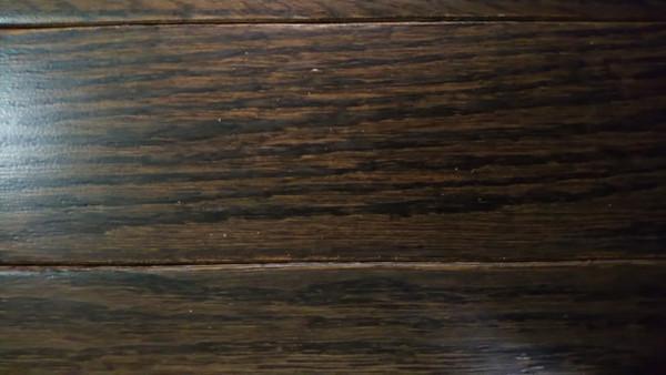 "Columbia Oak Chocolate 3/4"" x 2.25"" Solid Hardwood - $3.99 sq. ft."