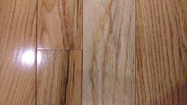 "Bruce Oak Pioneer Natural 3/4"" x 3.25""  Solid Hardwood - $4.29 sq. ft."