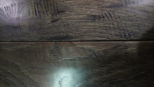 "HomerWood Hickory Soft-Scraped Graphite 3/4"" x 5"" Solid Hardwood - NOW $3.29 sq. ft."