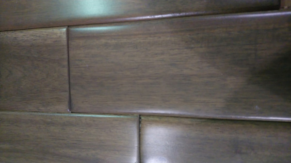 "Mohawk Graphite Acacia 3/4"" x 3.625"" Solid Hardwood- $4.69 sq. ft."