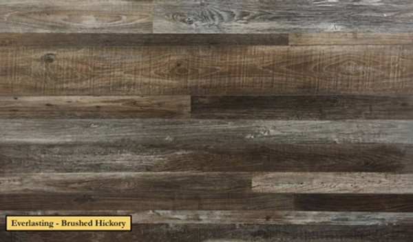 """Timeless Designs Everlasting II 7"""" x 60""""(Nominal) Brushed Hickory-$2.99 sq ft."""