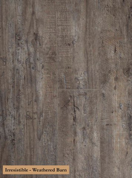 "Timeless Designs Irresistible 7"" x 48""(Nominal) Weathered Barn-$2.49 sq ft."