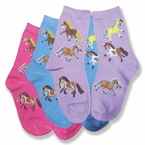 Puff Ponies Socks