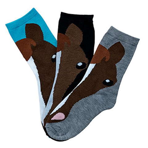 Horse Face Socks