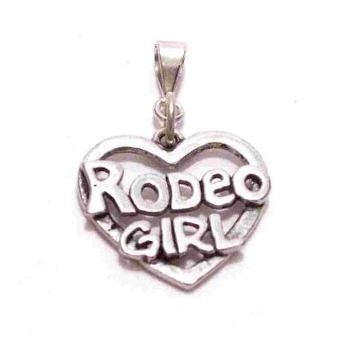 Rodeo Girl Pendant/Charm