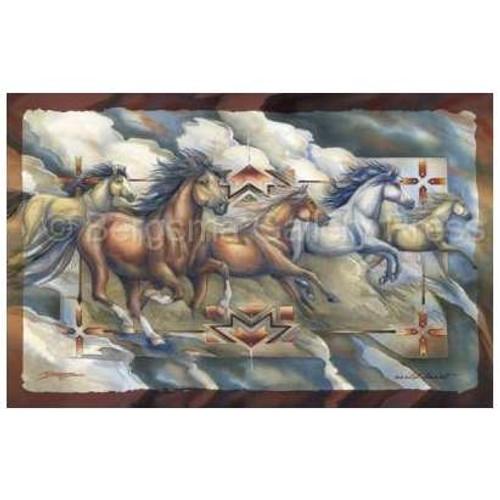 Wild Heart Horse Art Poster