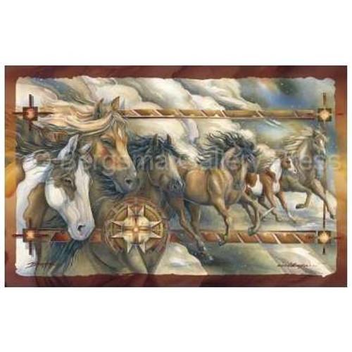 Wild Spirit Horse Art Poster