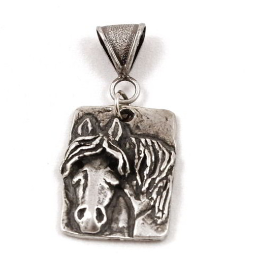 'Here's Lookin At Ya' Pewter Pendant