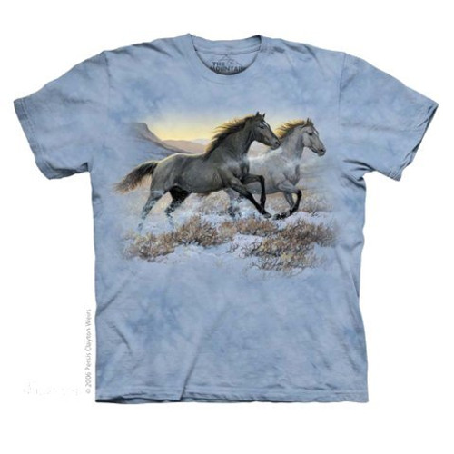 Running Free Adult T-Shirt