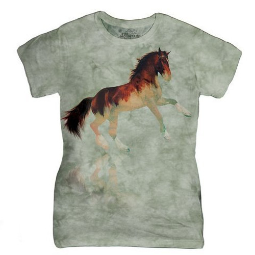 Forest Stallion Ladies T-Shirt
