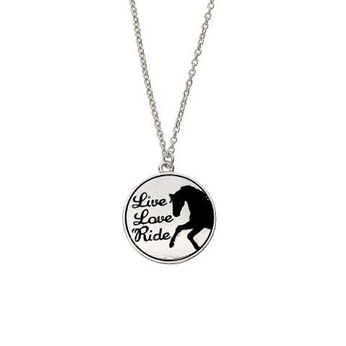 Live, Love, Ride Necklace