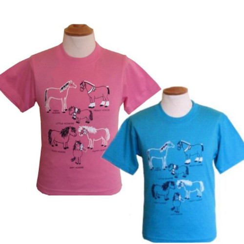 All Kinds of Horses Toddler T-shirt