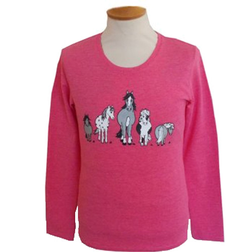 The Herd Long Sleeve Child's T-shirt