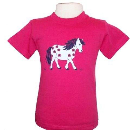 Little Flower Pony Baby T-shirt