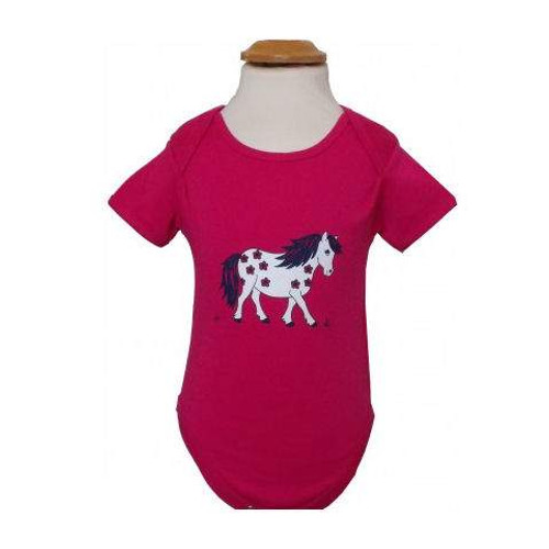 Baby Romper - Little Flower Pony
