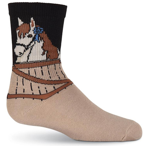 Blue Ribbon Kid's Horse Socks