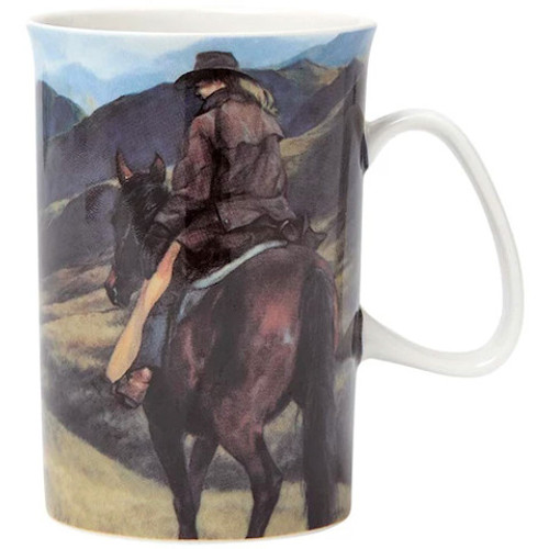 Working The Land Mug - High Country Girl