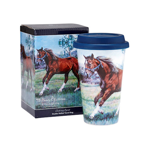 Beauty of Horses  Cantering Spirit Travel Mug