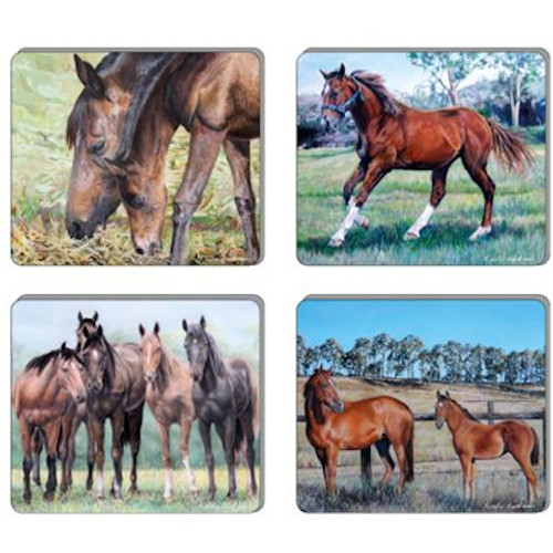 The Beauty of Horses Coasters