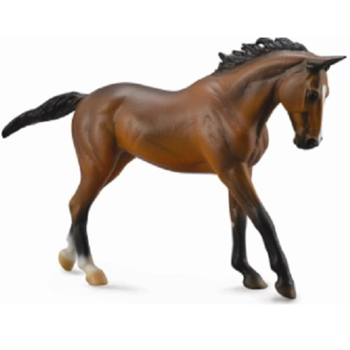 Bay Thoroughbred Mare 1:12 Scale