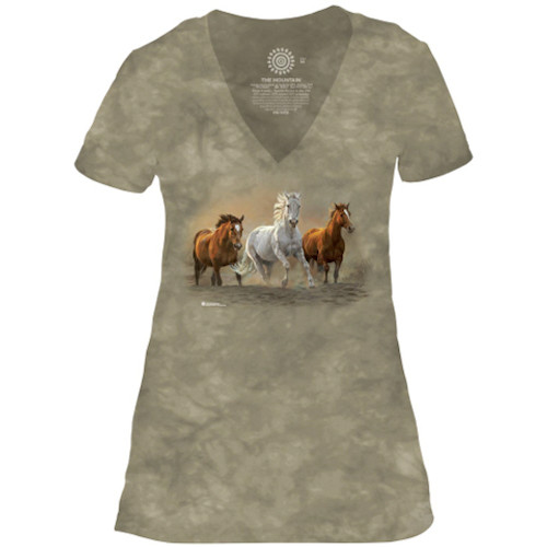 On The Run V-Neck T-Shirt