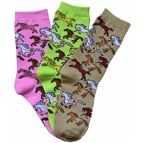 Bright Ponies Socks