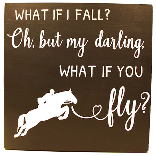 What if I Fall Wall Decor