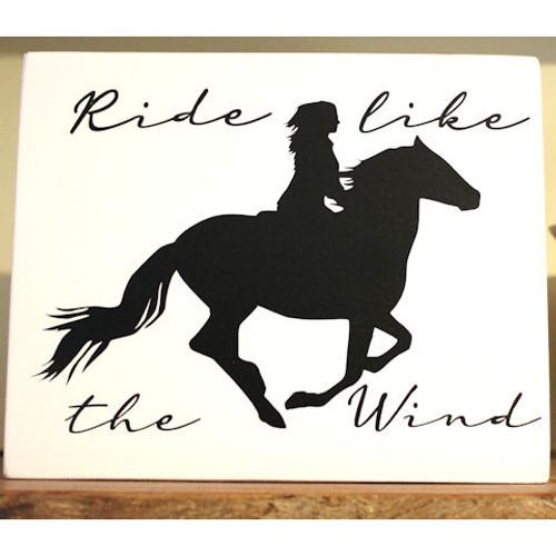 Ride Like the Wind Shelf Sitter