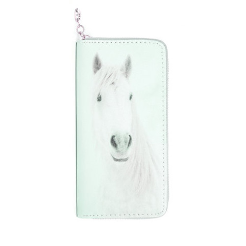 Horse Wallet - White Mare