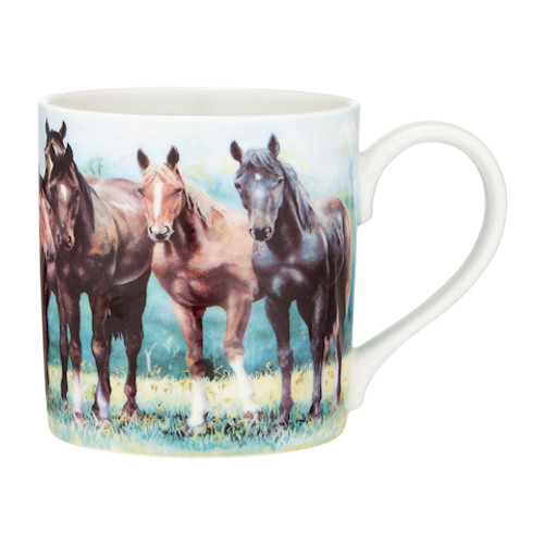 Beauty of Horses In the Pasture City Mug