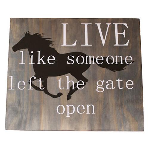 Gate Open Wall Decor