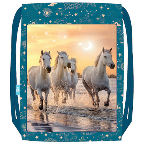 Cosmic Canter - Drawstring Backpack