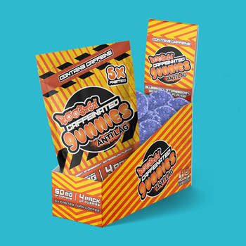 Boosted Anti-Lag Caffeinated Gummies or 10 Pack
