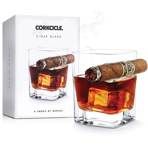 cork cigar glass