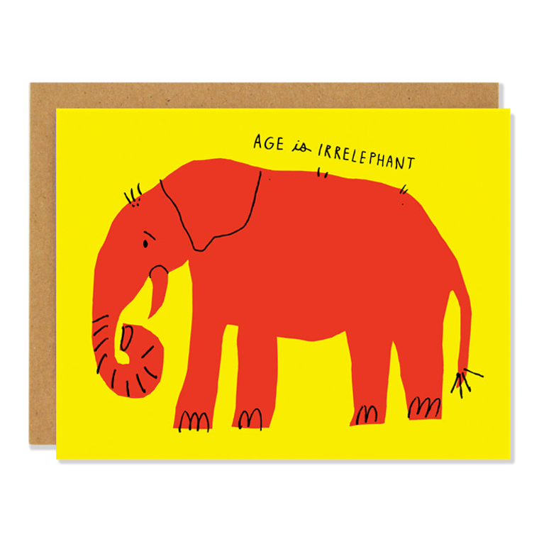 Irrelephant Card