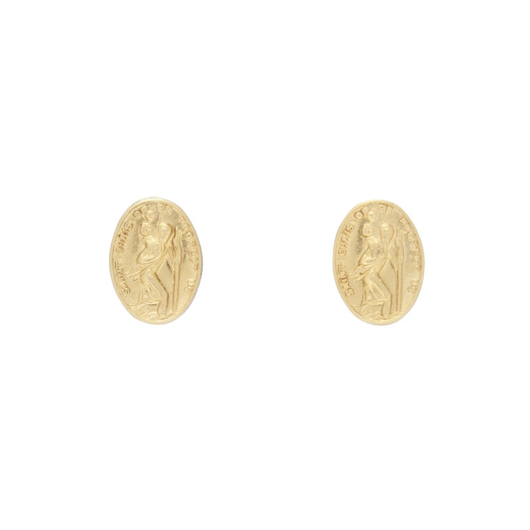 EN Protection Small Stud Gold