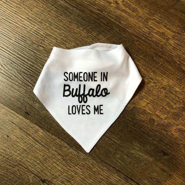 Baby Bib Buffalo