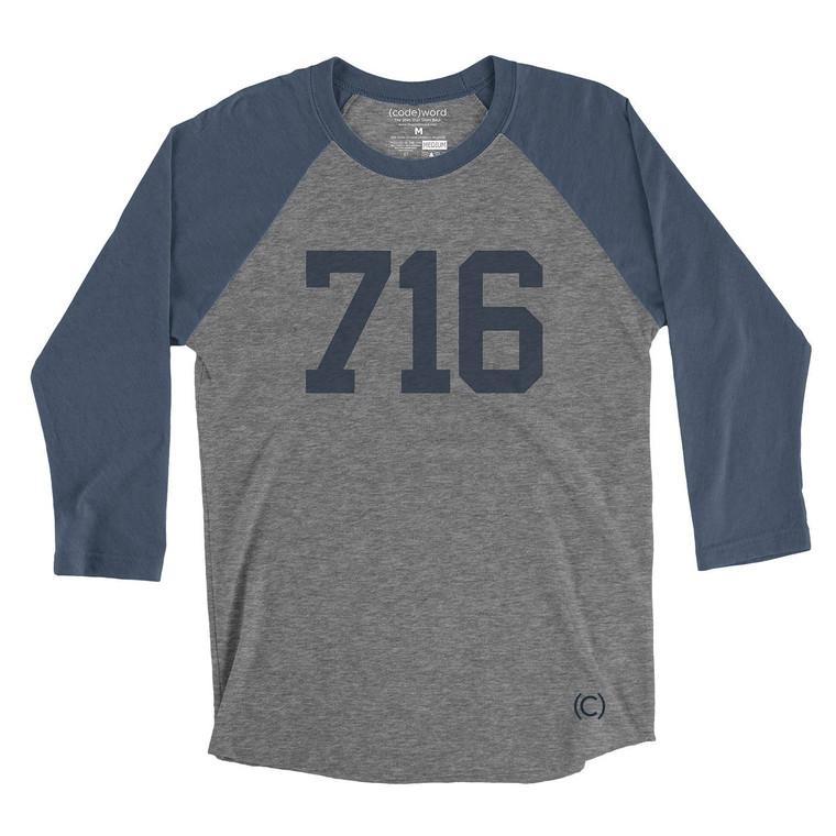 716 Buffalo Baseball Shirt