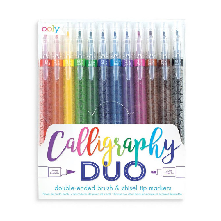 Calligraphy Duo Double Ended