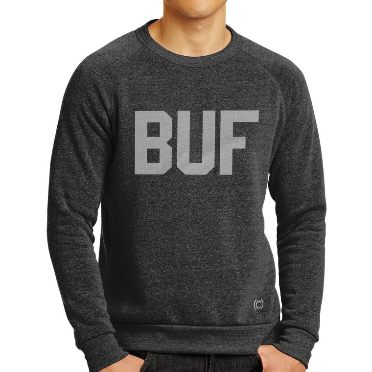 Buf Crew Sweatshirt-Charcoal