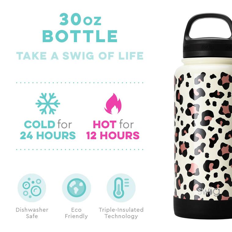 Swig 30oz Bottle Leopard