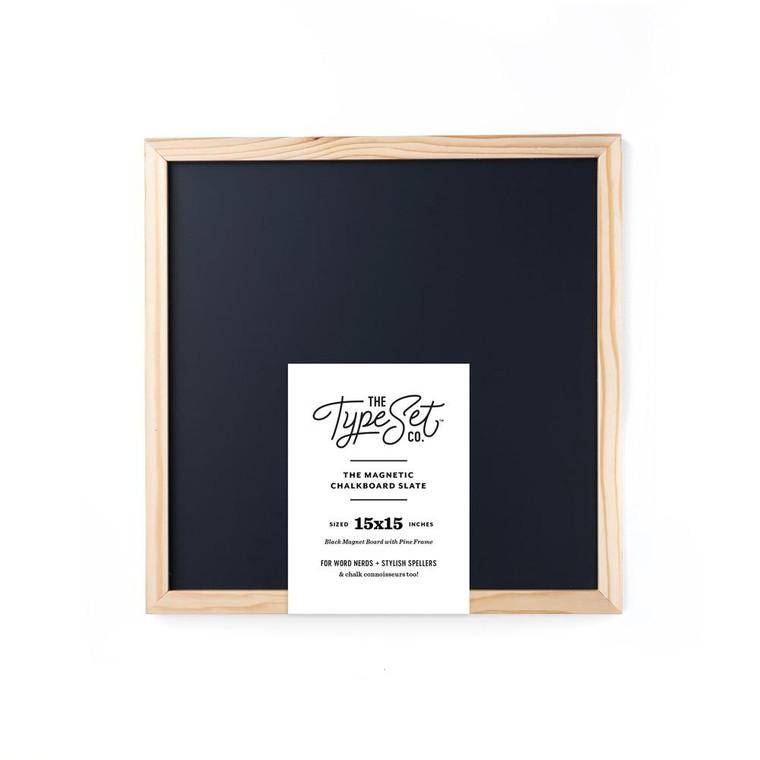 TypeSet 15in Board