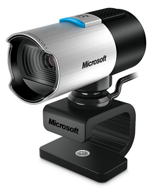 Microsoft LifeCam Studio 1920 x 1080pixels USB 2.0 Black,Silver webcam