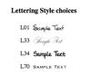 Organize By Week Super Slab font options
