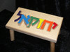 Hebrew Name Stool