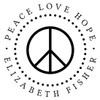 Peace Love Hope Self Inking Stamp
