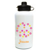 Peace And Flowers Water Bottle